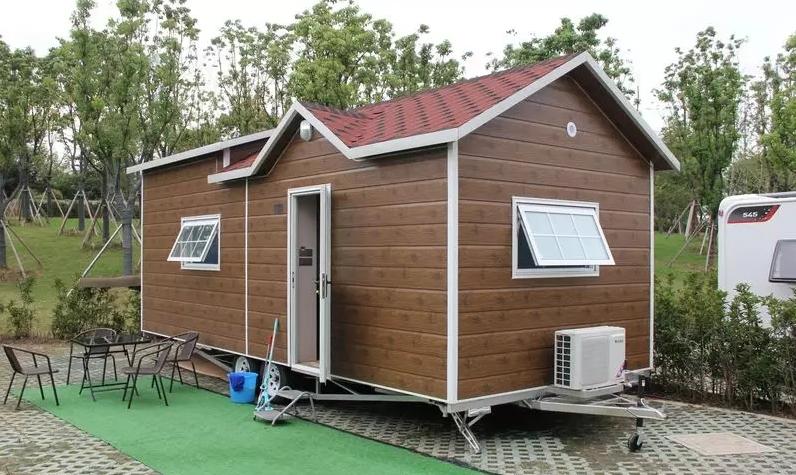 移动木屋别墅是走在路上的家
