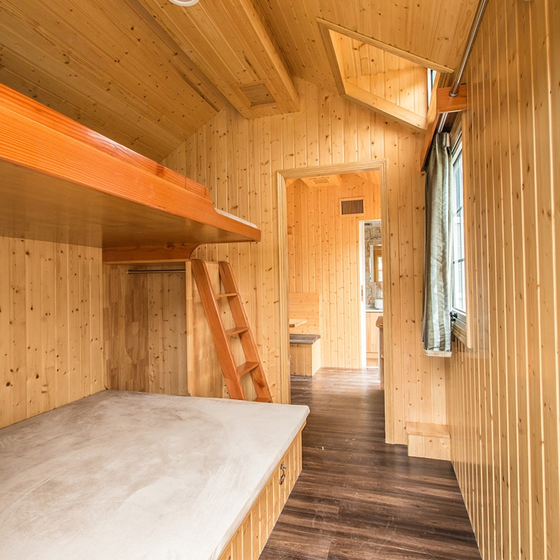纯实木房车